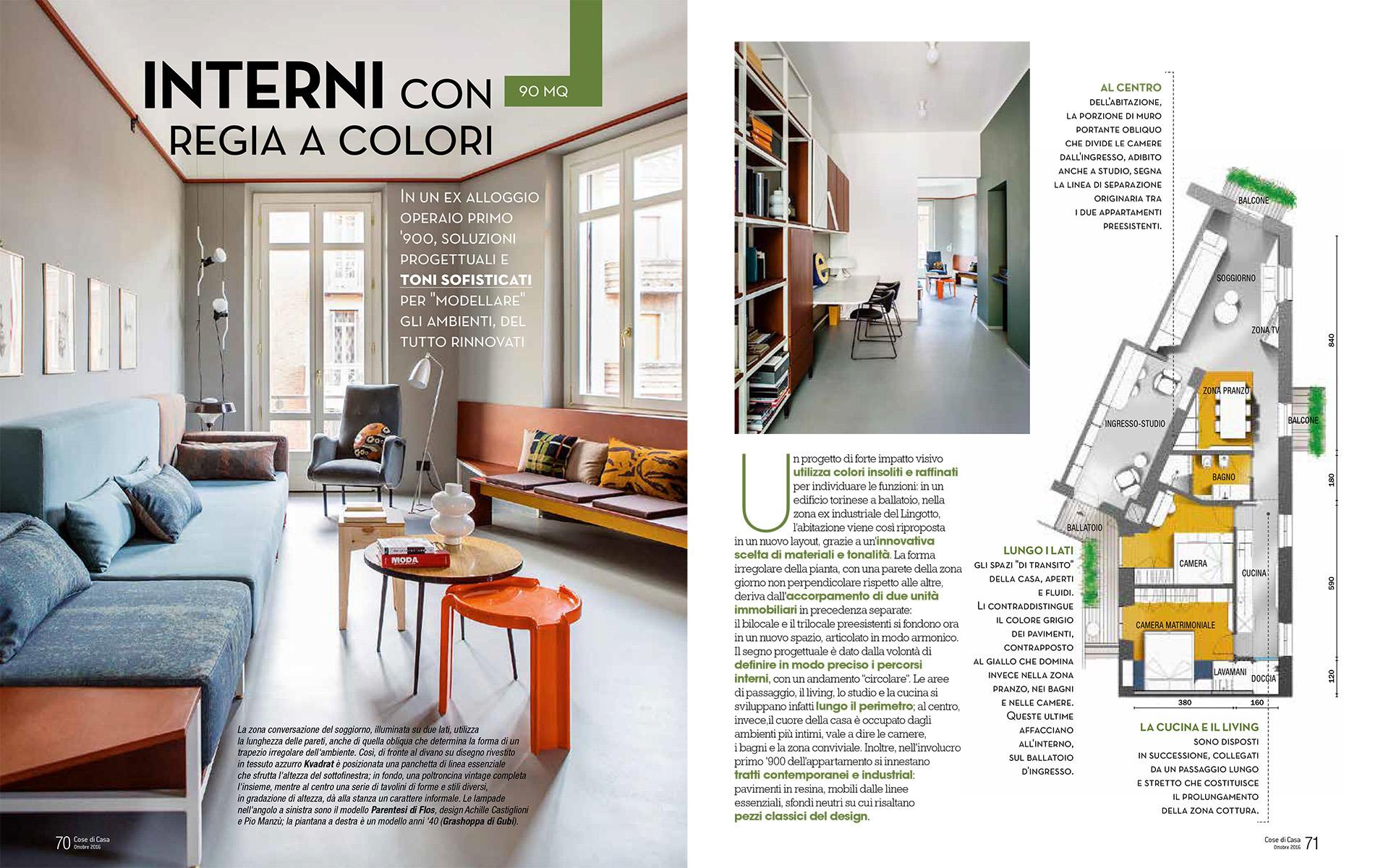 Cose di casa interno con regia a colori sceg for Cose di casa progetti
